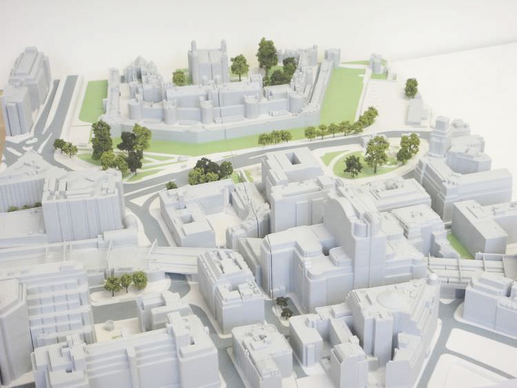Impresión 3D - Maqueta arquitectura