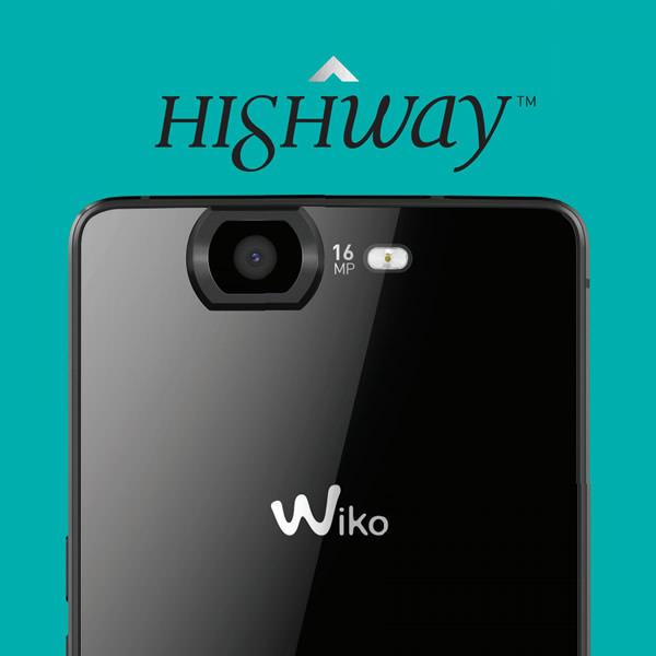 Wiko Highway - Cámara