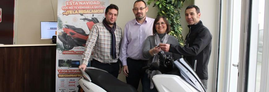 Entrega Moto Campaña Navidad
