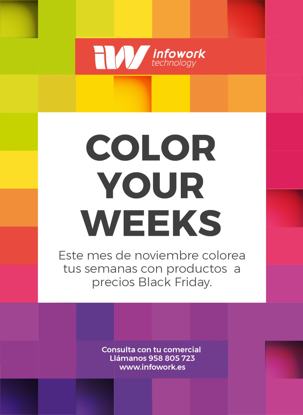 Color your weeks