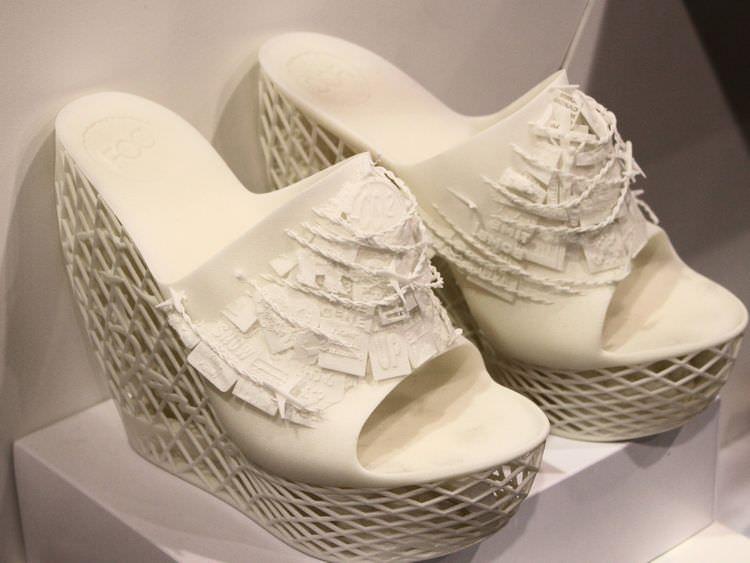 Impresión 3D - Zapatos de diseño